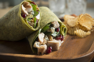 Spinach Chicken Wrap